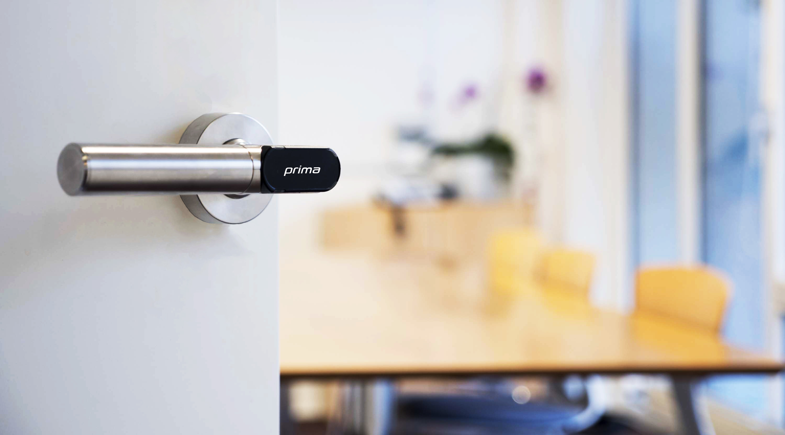 EvoLock Prima on office door